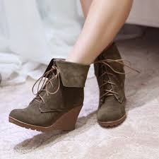 womens boots types 6 types of heels that can choose from green wedges ankle