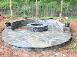 Flagstone Patio On Concrete by Patio How To Make A Stone Patio On Grass Diy Flagstone Patio