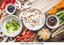 faire revenir en cuisine la cuisine végétarienne asiatique ingrédients pour faire revenir