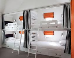 built in bunk beds with curtains admissions guide
