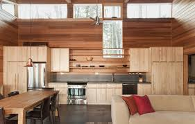 one room home compact one room cabin in massachusetts is impressive