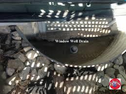 Basement Window Well Drainage by Basement Photos Basement Waterproofing Nationwide