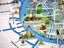 bangkok map tourist attractions about bts bangkok thailand airport map