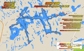 Distance Map Tour Map Of Kahshe Lake Fleafest 2017 U2013 Saturday July 1