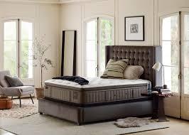 stearns u0026 foster mckee luxury firm euro pillowtop king mattress