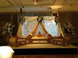 pakistani indian asian wedding stage eastern themed weddings