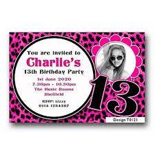 birthday invites best 13th birthday party invitations cards