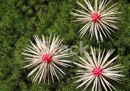 christmas home made decorations stars homemade decoration on christmas tree stock photos