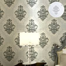 Black Damask Wallpaper Home Decor by Online Get Cheap Black Damask Paper Aliexpress Com Alibaba Group
