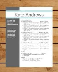 free contemporary resume templates free modern resume templates for word gentileforda