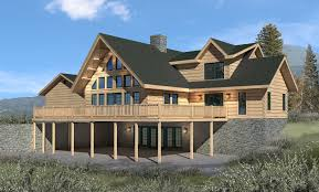 Log Home Floor Plans With Prices by Clear Creek Log Home Package Special Offer