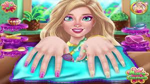 nail games galaxy nails art design and barbie make nail youtube