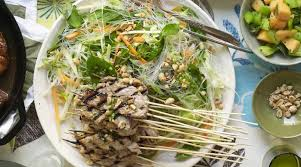 Noodle Salad Recipes Vietnamese Green Mango Noodle Salad With Grilled Pork The