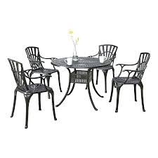Aluminum Patio Dining Set Articles With White Aluminum Outdoor Dining Set Tag Extraordinary