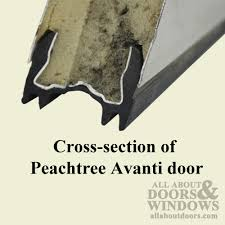 Peachtree Exterior Doors How To Replace The Sweep On A Peachtree Avanti Entry Door