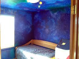 how to paint a star night sky themed nursery that will last until