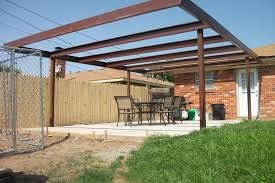 Backyard Patio Covers Metal Patio Cover Hbwonong Com