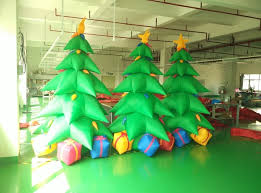 christmas tree with lights sale factory sale 3m height outdoor inflatable christmas tree with led