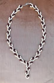bead tutorial necklace images Free pattern for necklace berries beads magic jpg