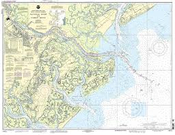 United States Rivers Map by Amazon Com 11512 Savannah River And Wassaw Sound Fishing