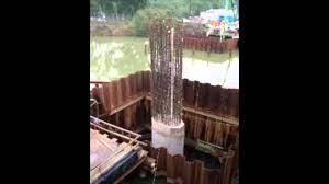 How Do You Spell Backyard How Do Engineers Build Bridge Towers Under Water Youtube