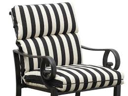 Outdoor Armchair Cushions Alluring Outdoor Replacement Chair Cushions With Outdoor Patio