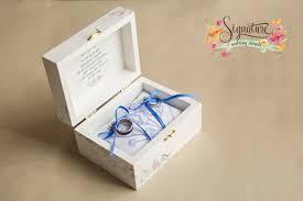 Wedding Ring Box by Custom Shabby Chic Wedding Ring Box Signature Wedding Details