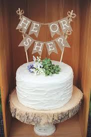 gender reveal cake toppers gender reveal cake topper he or she cake topper gender reveal