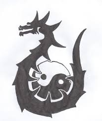 ying yang dragon tattoo by arkanianism on deviantart
