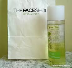 the rebel sweetheart spotlight the face shop green tea phyto