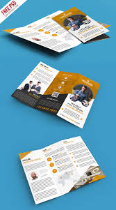 tri fold brochure template free download corporate trifold brochure template free psd psdfreebies com