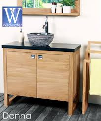 Teak Vanities Bathroom Furniture The Donna Teak Collection