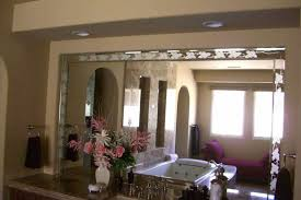 the perfect frameless beveled mirror accessory for your bathrrom