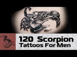 130 scorpion tattoo ideas for men tattoodesignguide com