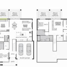 front to back split level house plans single level house plans one story great room small with open