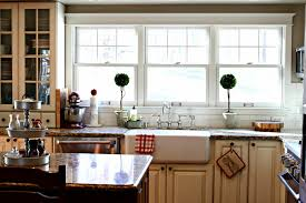 Kitchen With Farm Sink - bathroom breathtaking kitchen furniture decor with awesome rohl