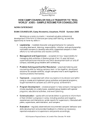 sample resume for counselor example exciting counseling resume 9