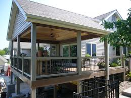 Covered Garage by Home Design Modern Covered Deck Ideas Home Builders Garage Doors