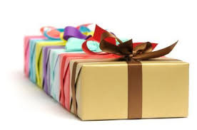 wrapped gift box saving money on wrapping paper thriftyfun