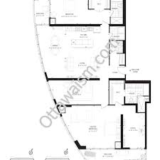 roosevelt floor plan upper west condos ottawa floor plans upper west 485 richmond rd