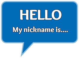 where did the term nicknames come from