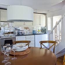 Kitchen Diner Design Ideas Kitchen Diner Mirrored Splashback Country Decorating Ideas Kitchen