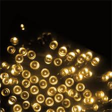warm white solar fairy lights 200 led waterproof warm white string solar fairy lights for