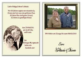 einladungskarten goldene hochzeit mit foto goldene hochzeit 2 christoph schirra it design