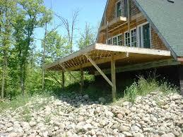 deck bracing patio doherty house processing of deck bracing