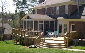 Enclosed Porch Plans Wonderful Looking For The Cool And Good Display Screen Porch