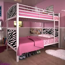 Dorel Bunk Bed Dorel Home Products White Metal Bunk Bed With Zebra Pattern