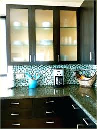 Glass For Kitchen Cabinets Inserts Etched Glass Kitchen Cabinet Doors Frosted Glass Kitchen Cabinet