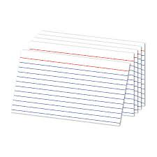 printable index cards maker index cards at office depot officemax