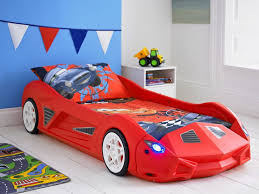 Toddler Race Car Bed Modern  MYGREENATL Bunk Beds  Stylized - Race car bunk bed